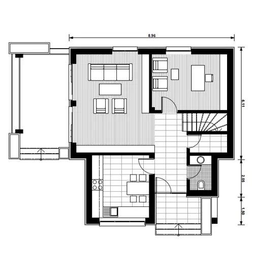 proiecte de case cu etaj mansardat attic house plans 5