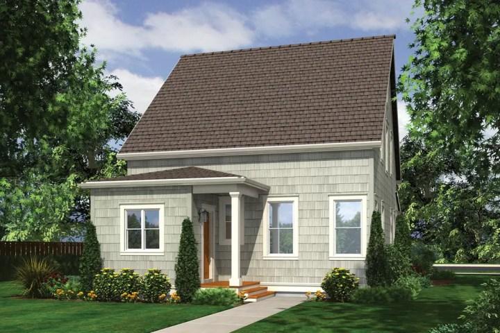 Idei de case mici cu etaj si trei dormitoare