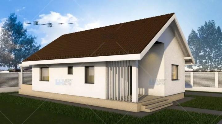 Case cu doua camere - arhitectura moderna, captivanta