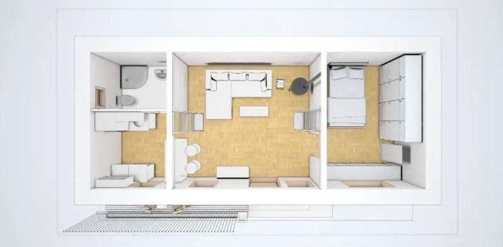 case mici de 60 de mp 60 square meter house plans 7