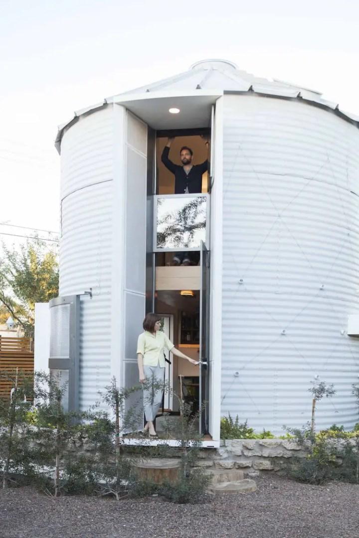 Casele din silozuri - cuibul arhitectului