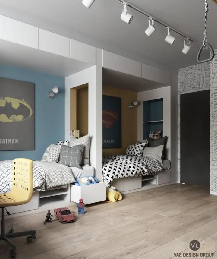 dormitoare pentru copii kids' bedrooms 4