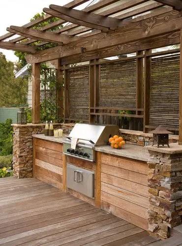 idei pentru bucataria de gradina Garden kitchen ideas 1