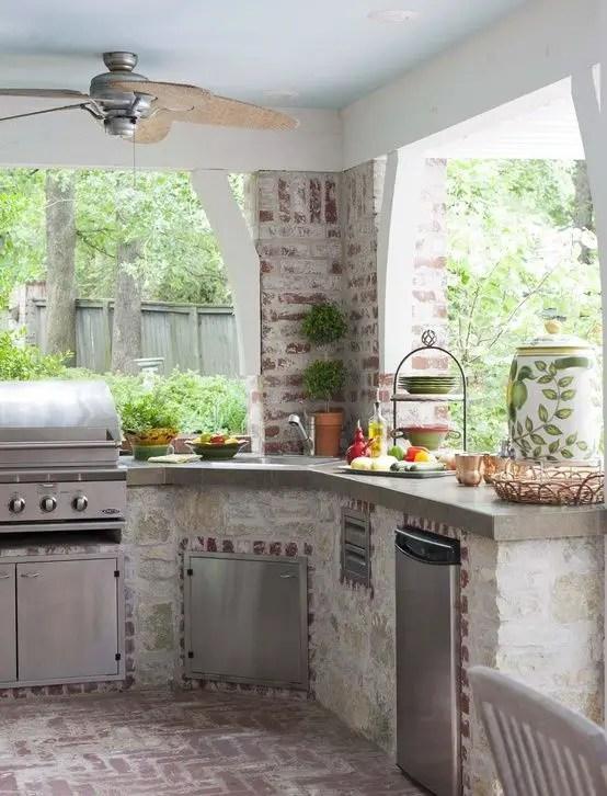idei pentru bucataria de gradina Garden kitchen ideas 12