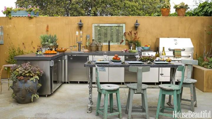 idei pentru bucataria de gradina Garden kitchen ideas 4