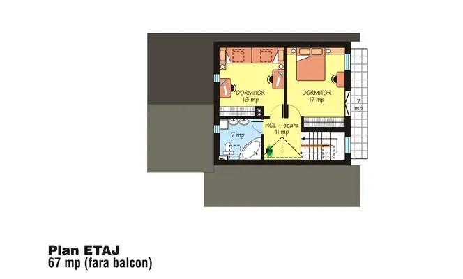 modele de case cu open space open floor house plans 12