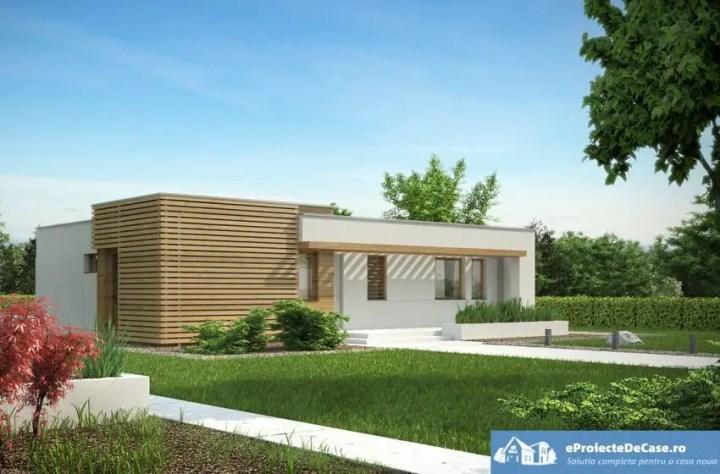 Proiecte de case cu parter si 3 dormitoare - arhitectura moderna