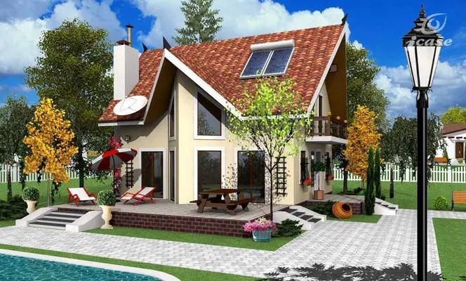 Proiecte de case intre 100 si 160 de mp - arhitectura frumoasa