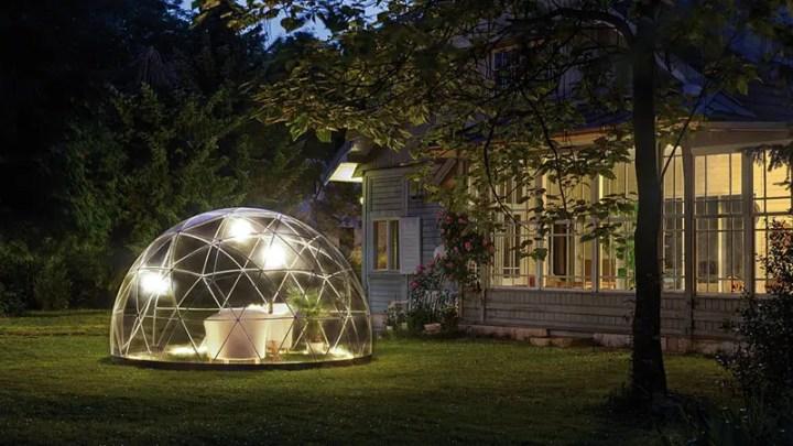 un iglu pentru gradina garden igloo 6