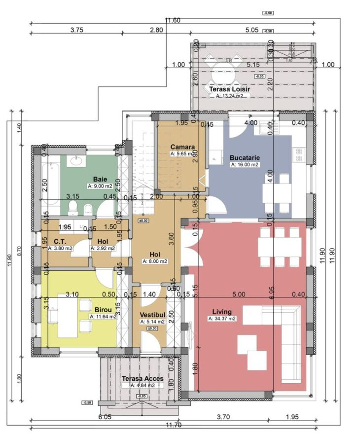 Case cu balcoane din sticla Houses with glass balconies 7