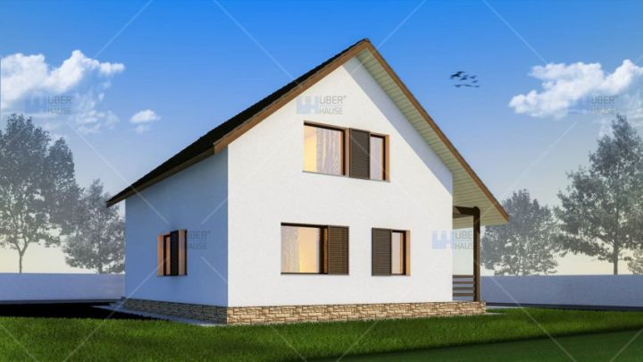 Case de vacanta cu mansarda Two story holiday homes 12