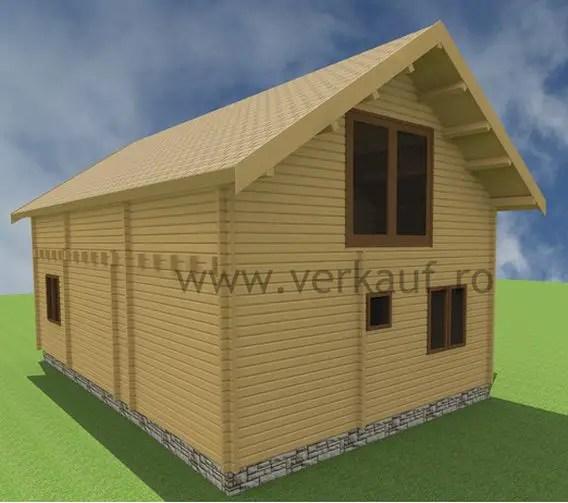 Case din grinzi chertate beam houses 12
