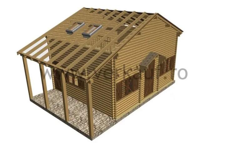 Case din grinzi chertate beam houses 9