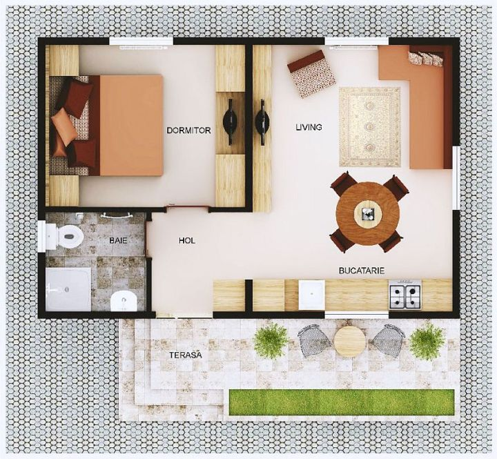 Case din lemn demontabile modular wood homes 12