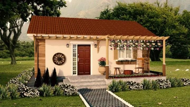 Case din lemn demontabile - design clasic, personalizat
