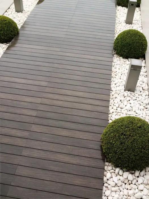 alei de gradina din lemn Garden wooden walkways 17