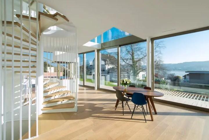 Casa flexibila - interioare si exterioare aproape fara bariera intre ele