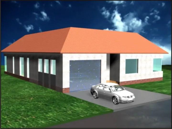 case cu gradina interioara Interior courtyard houses 3