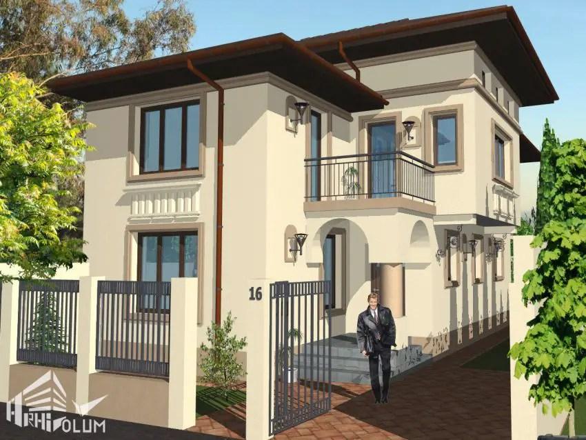Case cu latimea de 7 metri 3 proiecte generoase case for Arhitectura case cu mansarda