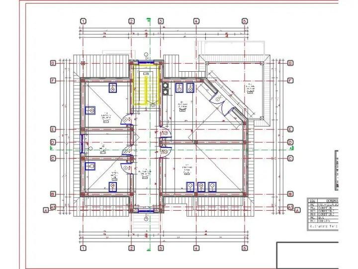 case cu mansarda si garaj subteran Loft houses with underground garage 11