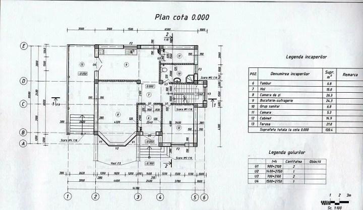 case cu mansarda si garaj subteran Loft houses with underground garage 4