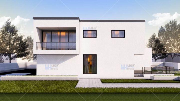 case medii pe doua nivele Medium sized two story house plans 11