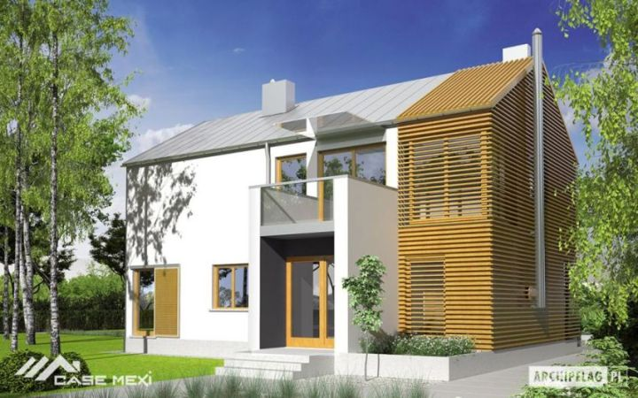 case medii pe doua nivele Medium sized two story house plans 14