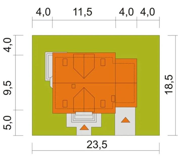 case mici cu lucarne Small dormer house plans 3