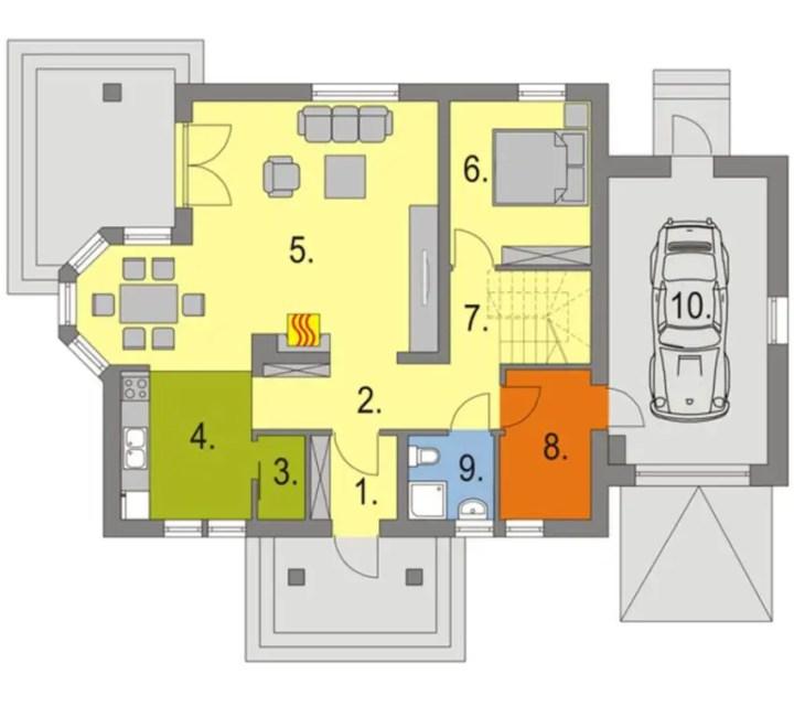 case mici cu lucarne Small dormer house plans 4
