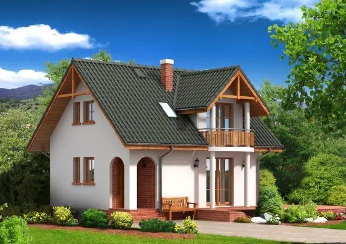 Case mici din lemn - arhitectura captivanta