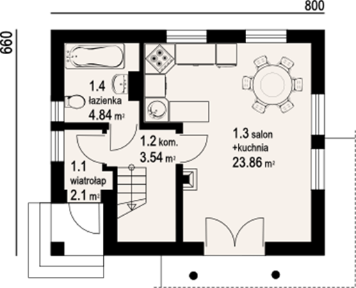 case mici din lemn Small wood homes 5