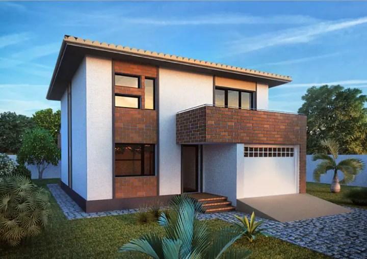 Case moderne cu etaj - iz mediteranean
