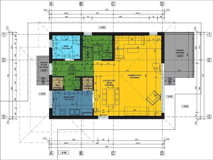 case moderne cu etaj Modern two story houses 8