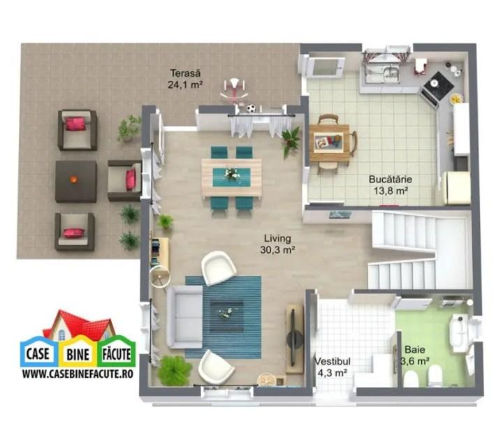 proiecte de case economice economical house plans 12