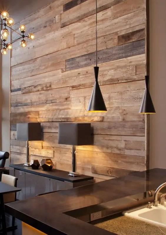 Interioare cu lambriu de lemn wood panel design ideas 10