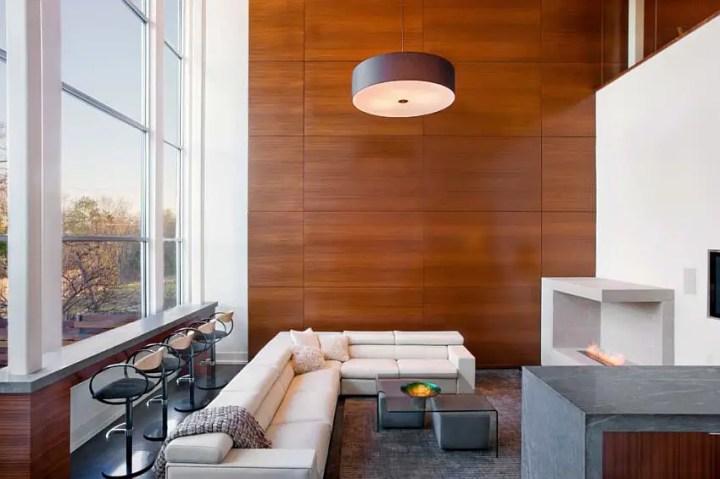 Interioare cu lambriu de lemn wood panel design ideas 3