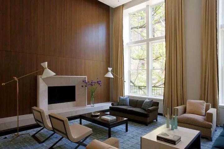 Interioare cu lambriu de lemn wood panel design ideas 6