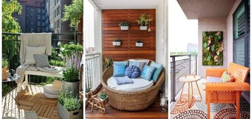 amenajare balcon ca loc de relaxare