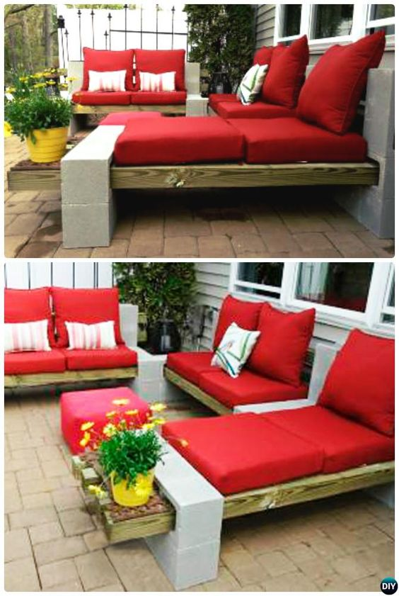 amenajari de gradina cu boltari Cinder block garden uses 6