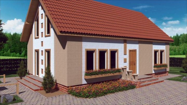 case medii pe doua nivele Medium sized two story house plans 19