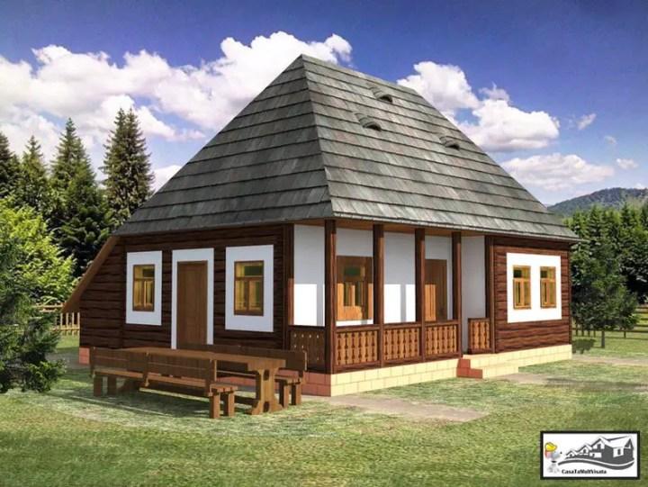 case taranesti peasant houses 7