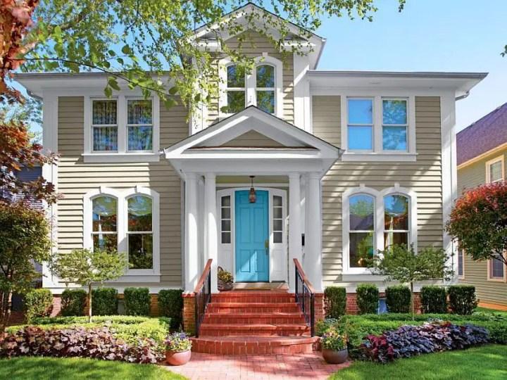 combinatii de culori pentru exteriorul casei Exterior color palettes 1