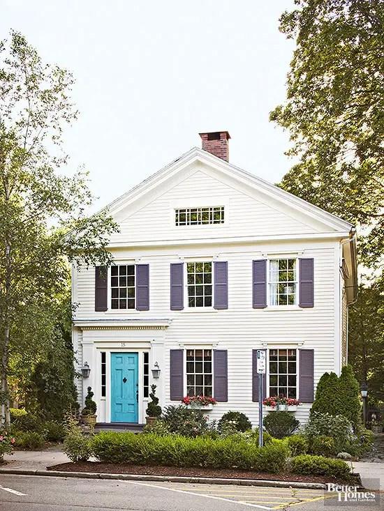 combinatii de culori pentru exteriorul casei Exterior color palettes 2