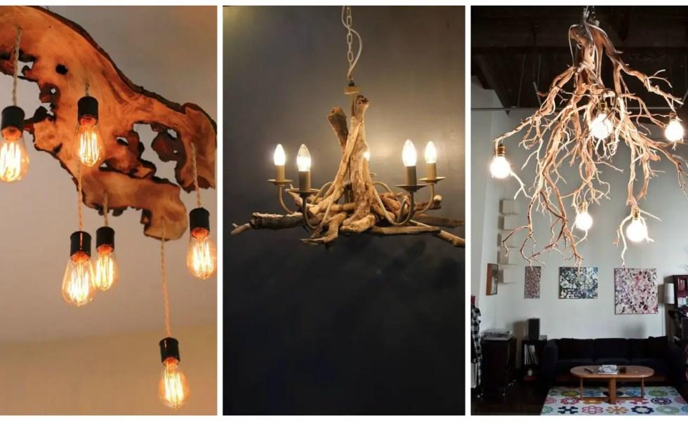 corpuri de iluminat din lemn candelabre