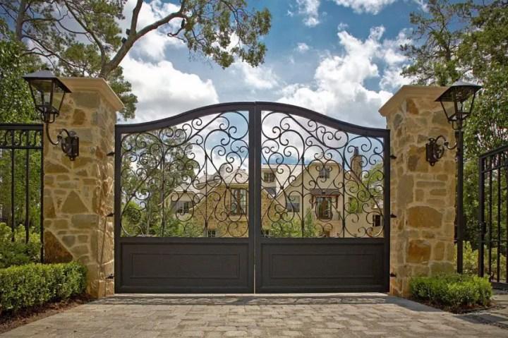 idei pentru spatiul de la poarta gate landscaping ideas 2