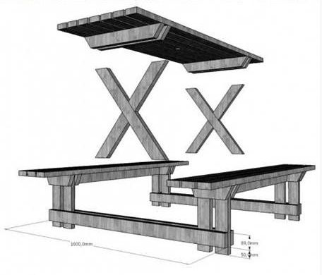 mobilier din paleti pentru gradina pallet outdoor furniture instructions 2