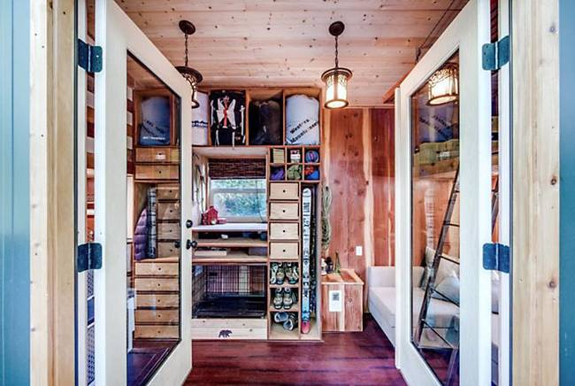 casuta cu terasa pe acoperis the roof deck tiny house   4