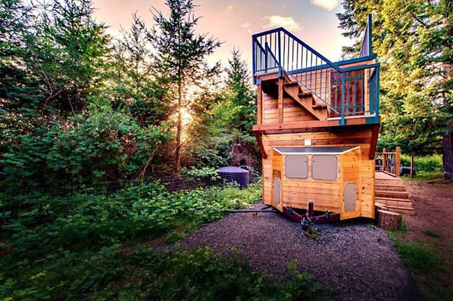 casuta cu terasa pe acoperis the roof deck tiny house   9
