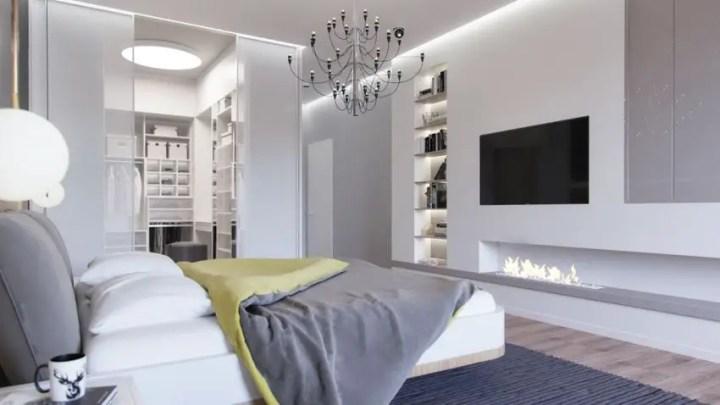 dormitoare in gri grey bedrooms 4