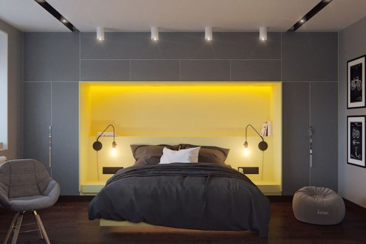 dormitoare in gri grey bedrooms 5